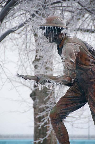 World War Soldier Statue - Harrisburg Area, Pennsylvania