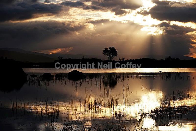 Loch Ba, Rannoch Moor, Highland - Landscape format