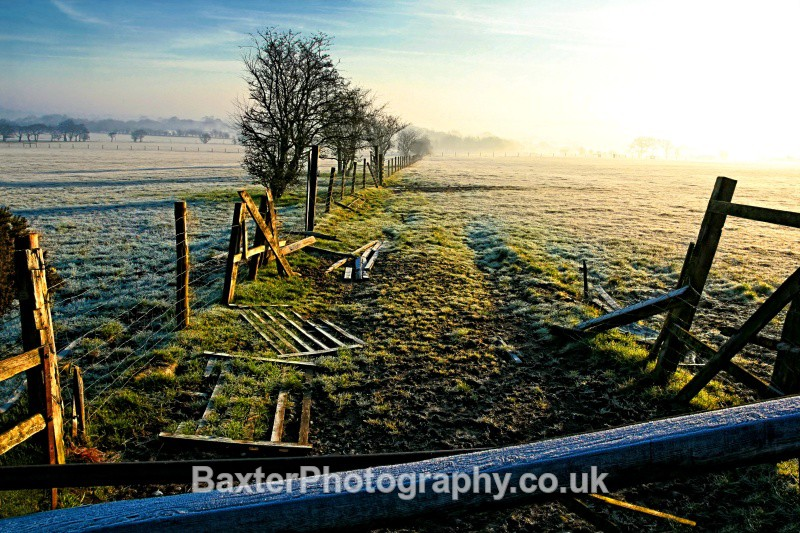 Frost On The Hill - Views Around Harrogate: