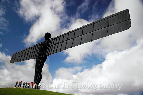 Angel Of The North 8 - Abstract / Creative
