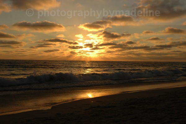 Now the Day is Over - Seascapes of Southern California