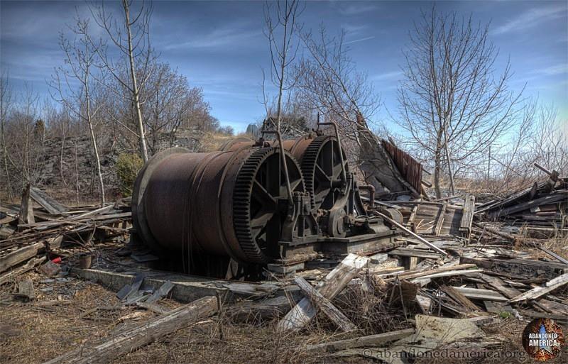 Abandoned Slate Quarry - Matthew Christopher's Abandoned America