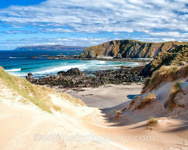 Faraid Head Beach - Scottish Highlands