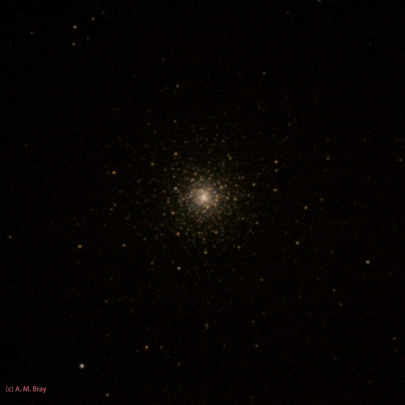 NGC1851 in Col - Globular Star Clusters