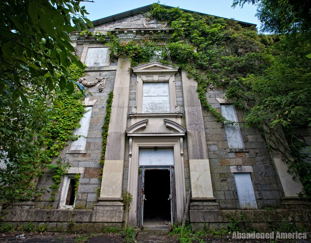Tome School (Port Deposit, MD) | Imposing Entrance - Tome School for Boys
