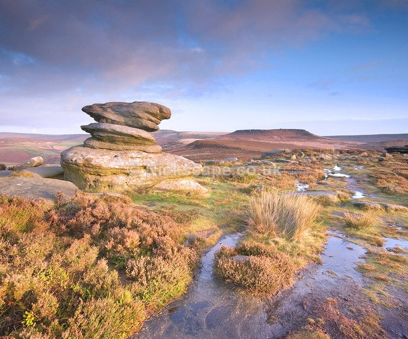 Rock Formations at Over Owler Tor | Peak District Photography Gallery