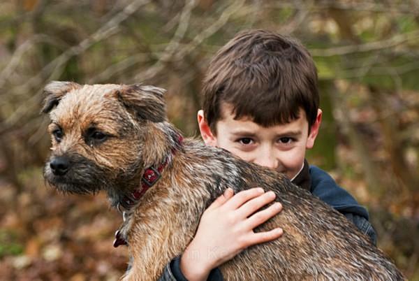 Max and Scruffy - Portraits