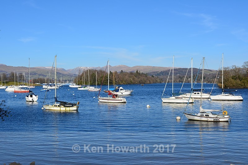 Windermere looking towards Belle Isle - Lakeland Landscapes