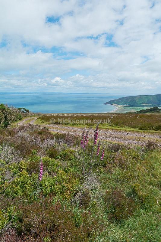 Exmoor Coastal Scenery overlooking Porlock Bay | Exmoor Photography Gallery