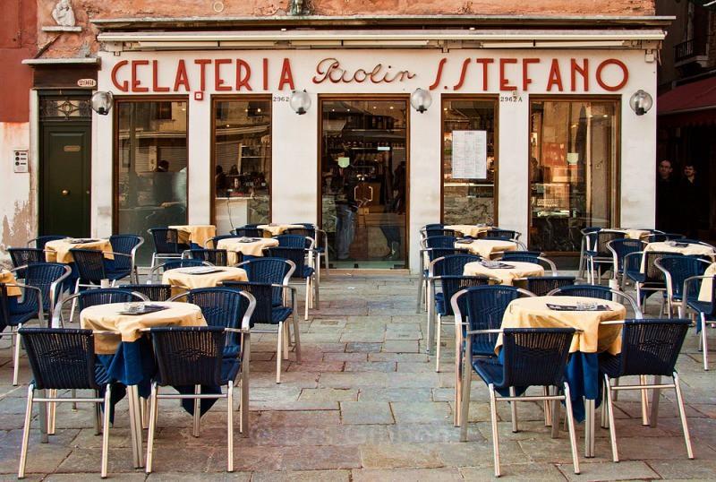 Gelateria - Venice