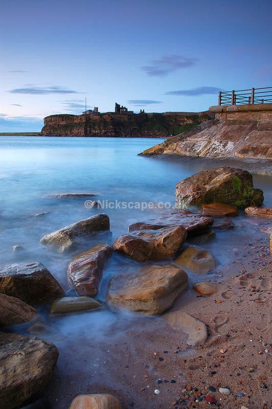 Seacape Art on the beach at Tynemouth | North Tyneside Coastal Photography Gallery