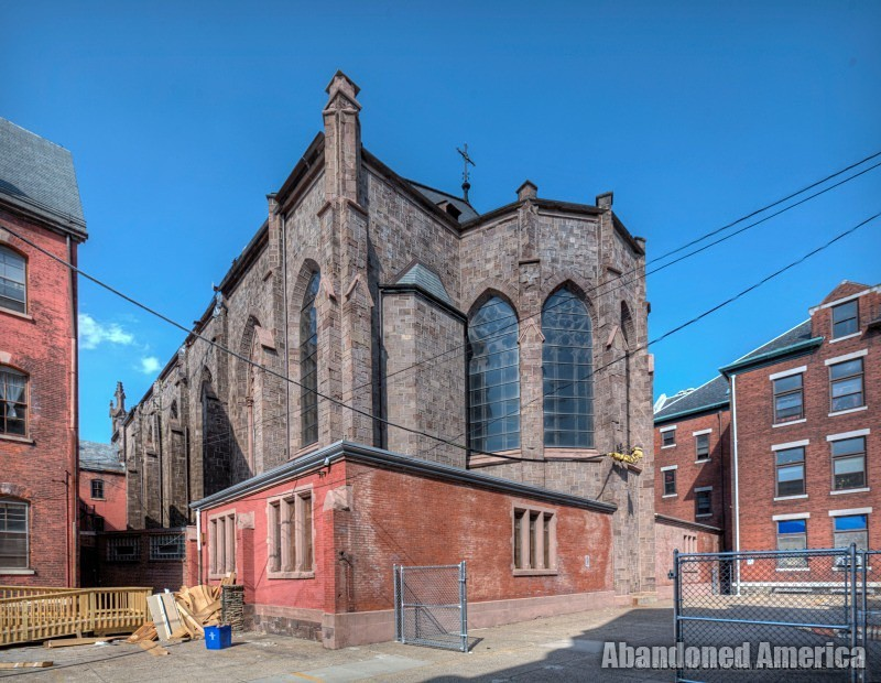 St. Boniface Church (Philadelphia, PA) | Apse Diagonal View - St. Boniface Church