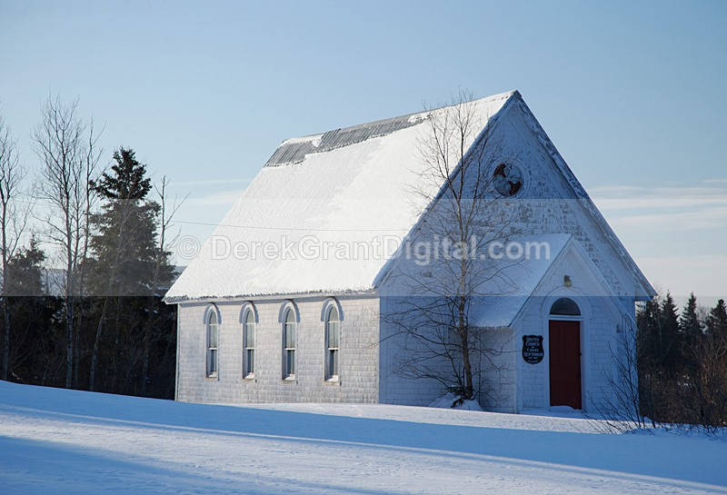 Newtown United Church Kings County New Brunswick Canada - Churches of New Brunswick