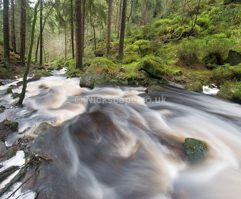 Wyming Brook Falls - City of Sheffield, UK - Peak District Landscape Photography Gallery