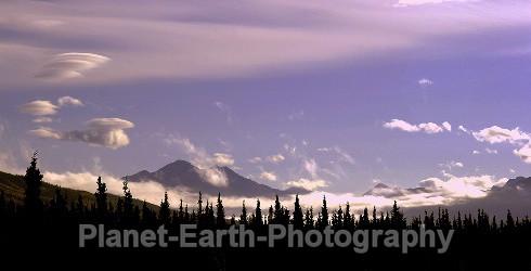 Denali Sunset - Panoramic