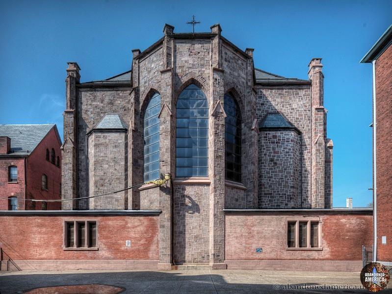 St. Boniface Church (Philadelphia, PA) | Apse Exterior - St. Boniface Church