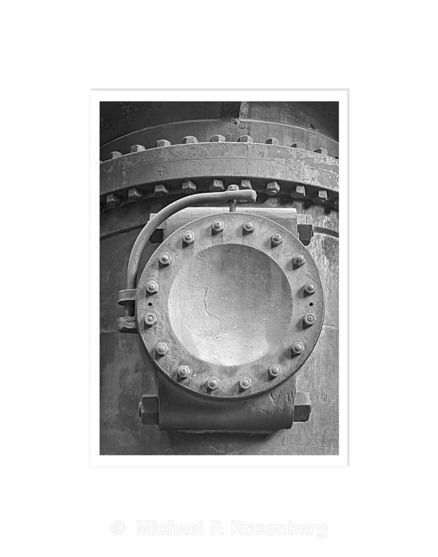 Water Pump Detail, Ward Water Plant, Buffalo NY - Architecture