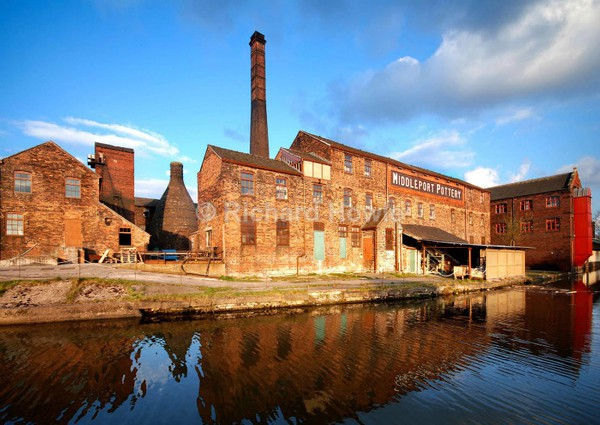 Middleport Pottery - Potteries Images