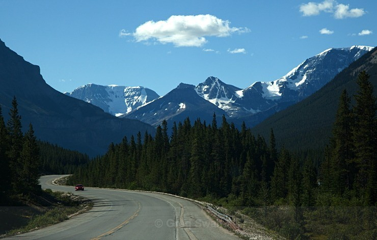On the Icefields Parkway - BC and the Rockies,Canada 2013