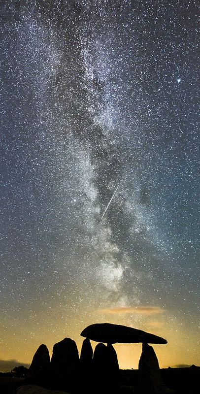 Heavens Above - Pentre Ifan - Astro / Night