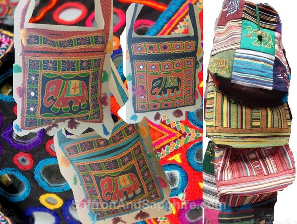 Indian Side Cotton Bags
