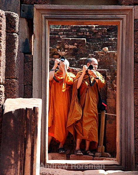 Monks at Angkor Wat - Travel 3
