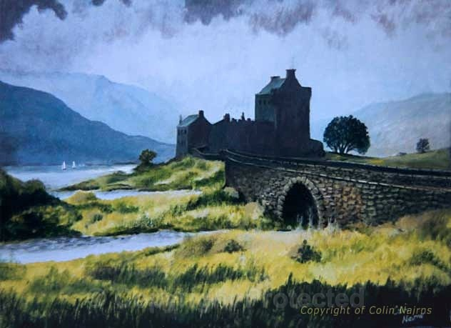 'Eilean Donan Castle' 2 - Landscapes