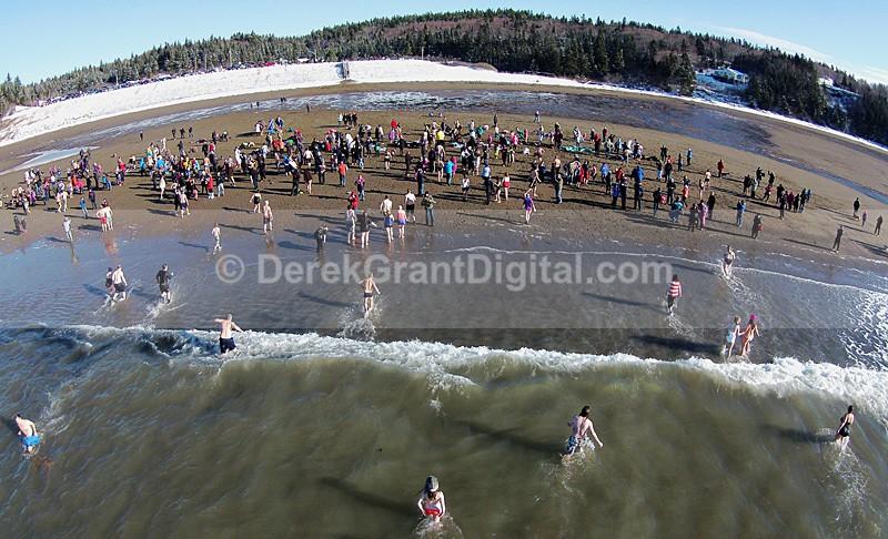 Mispec Polar Dip - 2015 Saint John New Brunswick Canada - Sport & Recreation