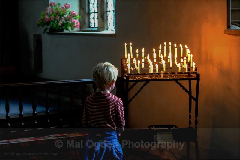 Candle Light Vigil - Britain and the British