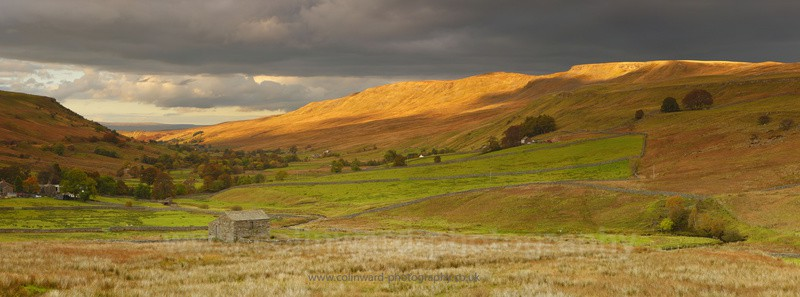 Autumn Mallerstang          ref am1 - The Pennines and The Lake District