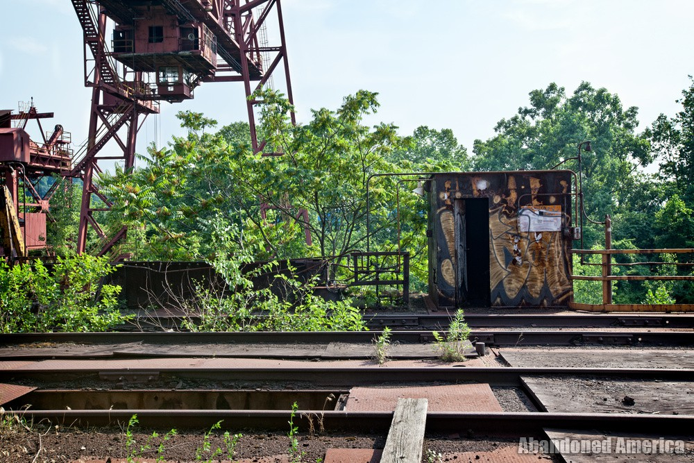 Carrie Furnaces (Rankin, PA) | Trestle Shed - Carrie Furnaces