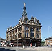Angel building, Paisley Road West/Govan Road, Kingston, Glasgow - Glasgow