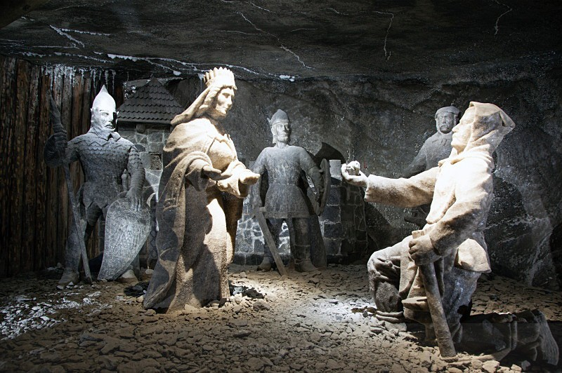 The Salt Mine, Wieliczka - Poland, Hungary & Czech Republic