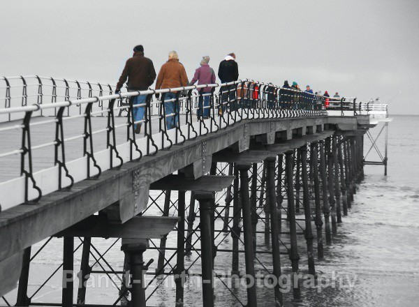 Saltburn Pier - Abstract / Creative