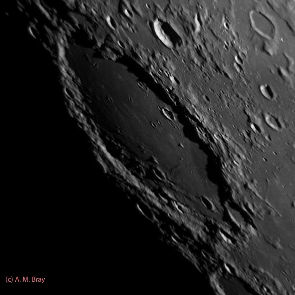 Schickard - Moon: South West Region