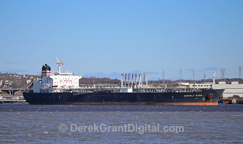Asphalt Star Oil Tanker Saint John New Brunswick Canada - Boats