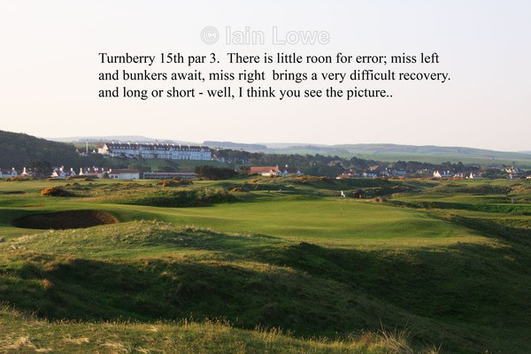 Turnberry 15th Tee to Green - Turnberry Ailsa Championship Course