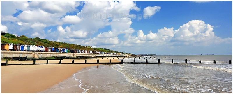 Beach scene at Frinton - Frinton-on-Sea