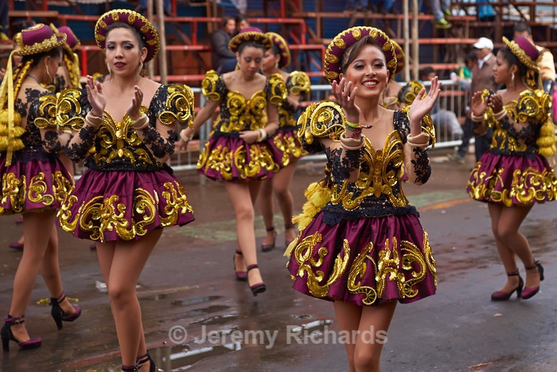 Caporales Dancers - Oruro Carnival 2017