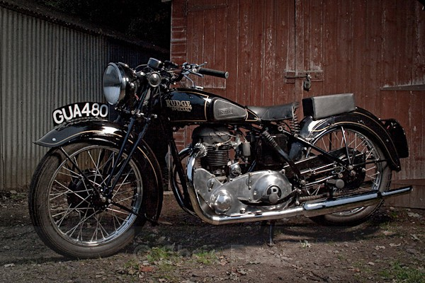 6 - Rudge Motorcycle Restoration