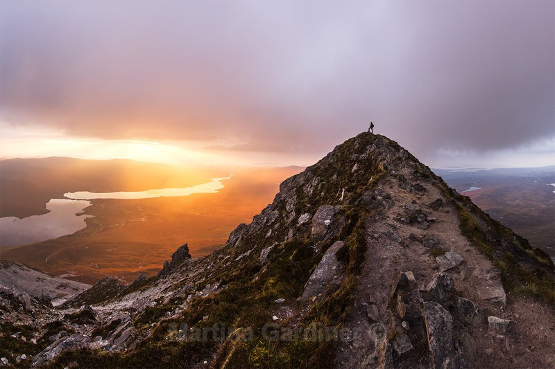 The Summit of Errigal - Ireland by Day