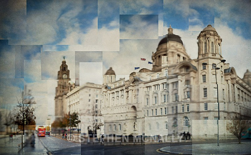 Three Graces - Photographic Cubism