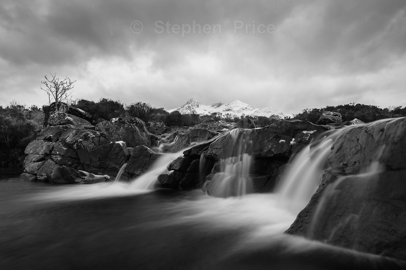 Waterfall at Sligachan | Isle of Skye Scotland Photography