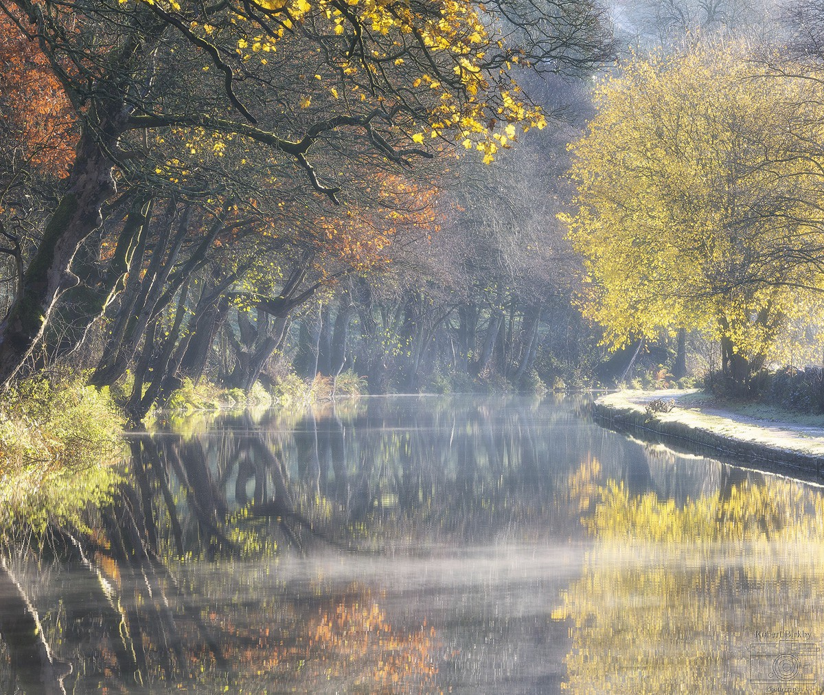 Soft autumn light - Calderdale Landscapes
