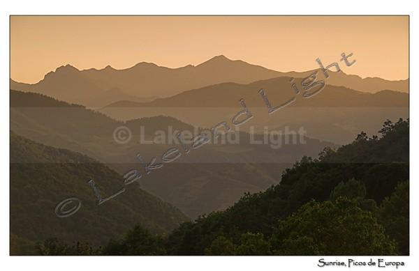 Picos 005 Sunrise, Picos de Europa - Picos de Europa, Spain