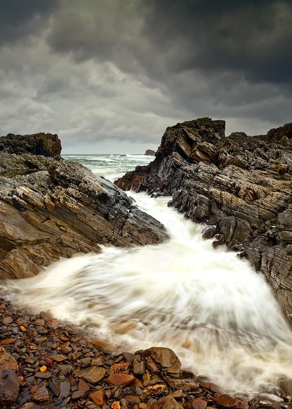 Waves Rushing In