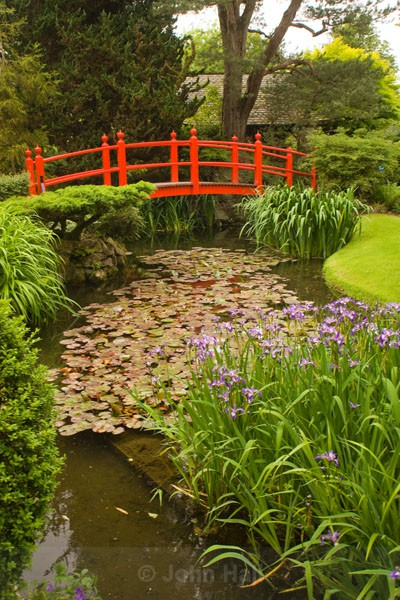 The Bridge Of Life. Japanese Gardens, Co. Kildare, Ireland.