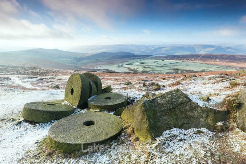 'Sugar-Coated Millstones', Stanage Edge_5603 - The Peak District