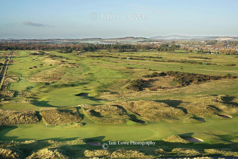 Carnoustie 2nd green - Carnoustie Golf Links images