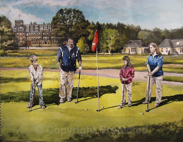 'Gleneagles' - Commissioned Work
